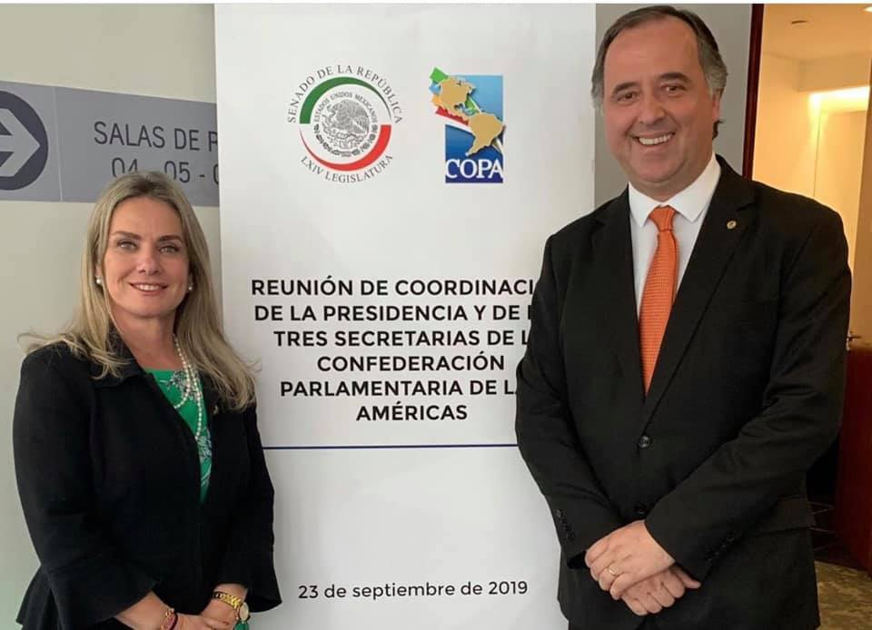 Resultado de imagem para Ivana Bastos representa o Brasil em reunião da Coordenação da COPA no México